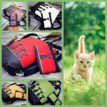 Boszorkány cicái 5 dbos táska + tárca + neszeszer + kulcstartó+ kártytartó szett