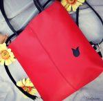 Cseresznye luxus 3 in 1 táska + pénztárca szett